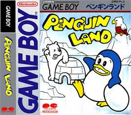 Box cover for Penguin Land on the Nintendo Game Boy.