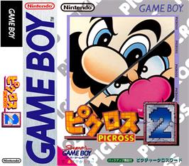 Box cover for Picross 2 on the Nintendo Game Boy.