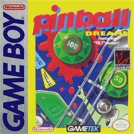 Box cover for Pinball Dreams on the Nintendo Game Boy.