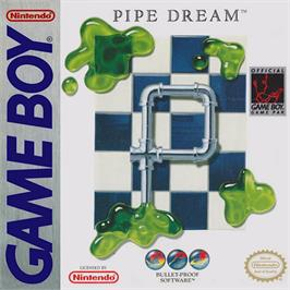Box cover for Pipe Dream on the Nintendo Game Boy.