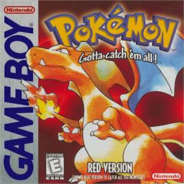Box cover for Pokemon - Red Version on the Nintendo Game Boy.