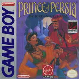Box cover for Prince of Persia on the Nintendo Game Boy.