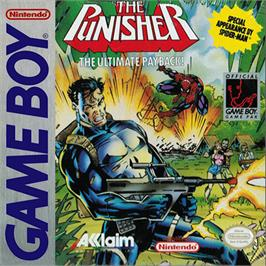 Box cover for Punisher: Ultimate Payback on the Nintendo Game Boy.