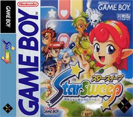 Box cover for Puzzle Star Sweep on the Nintendo Game Boy.