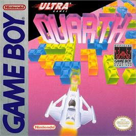 Box cover for Quarth on the Nintendo Game Boy.