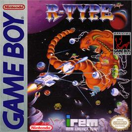 Box cover for R-Type on the Nintendo Game Boy.