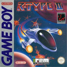 Box cover for R-Type II on the Nintendo Game Boy.
