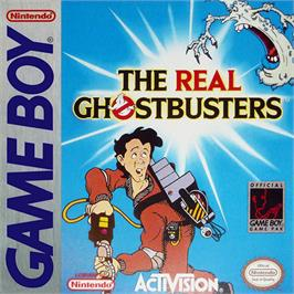 Box cover for Real Ghostbusters, The on the Nintendo Game Boy.