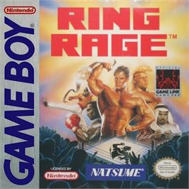Box cover for Ring Rage on the Nintendo Game Boy.