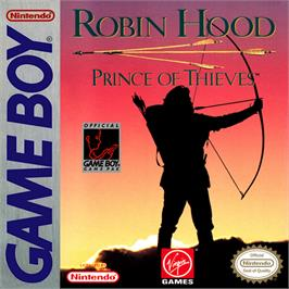 Box cover for Robin Hood: Prince of Thieves on the Nintendo Game Boy.