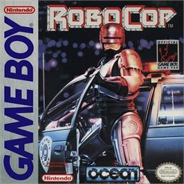 Box cover for Robocop on the Nintendo Game Boy.