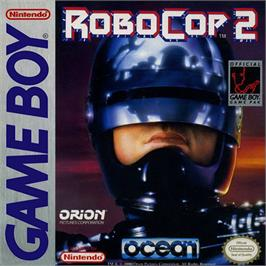 Box cover for Robocop 2 on the Nintendo Game Boy.