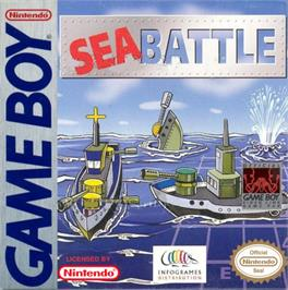 Box cover for Sea Battle on the Nintendo Game Boy.