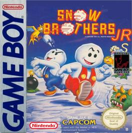Box cover for Snow Bros. Nick & Tom on the Nintendo Game Boy.