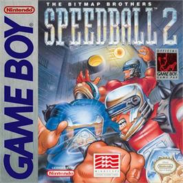 Box cover for Speedball 2: Brutal Deluxe on the Nintendo Game Boy.