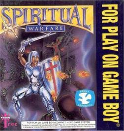 Box cover for Spiritual Warfare on the Nintendo Game Boy.