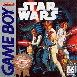 Box cover for Star Wars: The Empire Strikes Back on the Nintendo Game Boy.