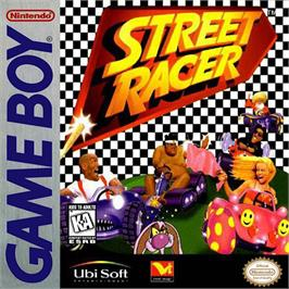 Box cover for Street Racer on the Nintendo Game Boy.