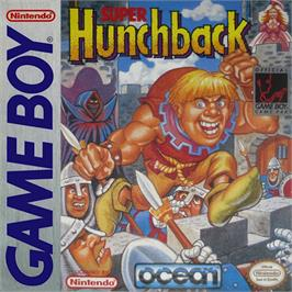 Box cover for Super Hunchback on the Nintendo Game Boy.