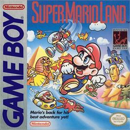 Box cover for Super Mario Land on the Nintendo Game Boy.