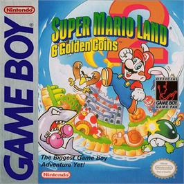 Box cover for Super Mario Land 2: 6 Golden Coins on the Nintendo Game Boy.