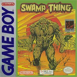 Box cover for Swamp Thing on the Nintendo Game Boy.