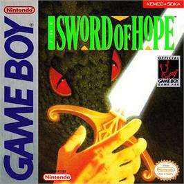 Box cover for Sword of Hope on the Nintendo Game Boy.