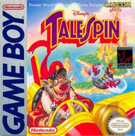 Box cover for TaleSpin on the Nintendo Game Boy.