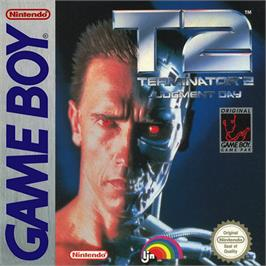 Box cover for Terminator 2 - Judgment Day on the Nintendo Game Boy.