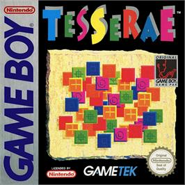 Box cover for Tesserae on the Nintendo Game Boy.
