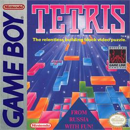Box cover for Tetris on the Nintendo Game Boy.
