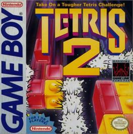 Box cover for Tetris 2 on the Nintendo Game Boy.