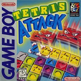 Box cover for Tetris Attack on the Nintendo Game Boy.