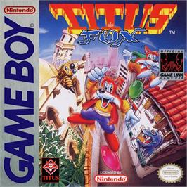Box cover for Titus the Fox: To Marrakech and Back on the Nintendo Game Boy.