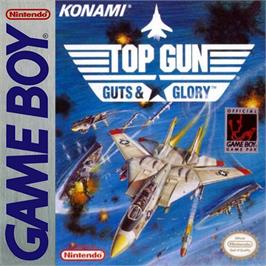 Box cover for Top Gun: Guts & Glory on the Nintendo Game Boy.