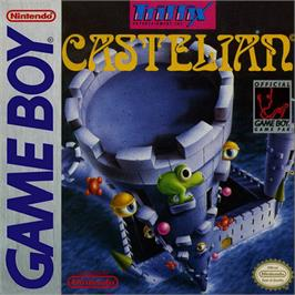 Box cover for Tower Toppler on the Nintendo Game Boy.