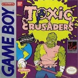 Box cover for Toxic Crusaders on the Nintendo Game Boy.