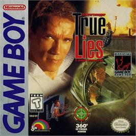 Box cover for True Lies on the Nintendo Game Boy.