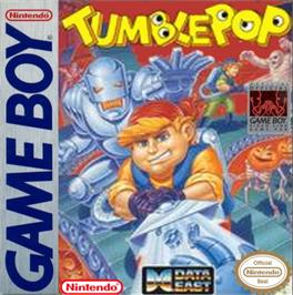 Box cover for Tumble Pop on the Nintendo Game Boy.