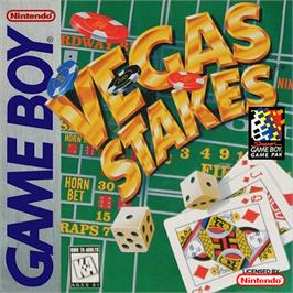 Box cover for Vegas Stakes on the Nintendo Game Boy.