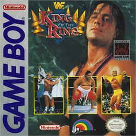Box cover for WWF King of the Ring on the Nintendo Game Boy.
