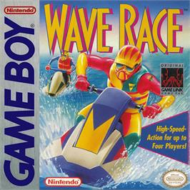 Box cover for Wave Race on the Nintendo Game Boy.