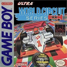 Box cover for World Circuit Series on the Nintendo Game Boy.