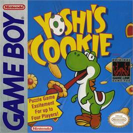 Box cover for Yoshi's Cookie on the Nintendo Game Boy.