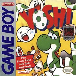 Box cover for Yoshi on the Nintendo Game Boy.