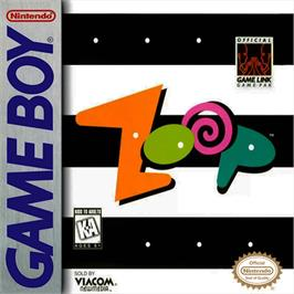Box cover for Zoop on the Nintendo Game Boy.
