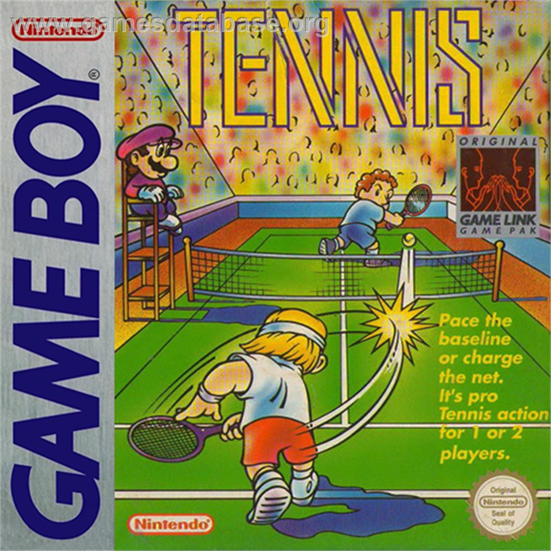 Tennis - Nintendo Game Boy - Artwork - Box