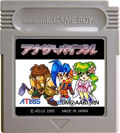 Cartridge artwork for Another Bible on the Nintendo Game Boy.