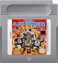 Cartridge artwork for Blues Brothers: Jukebox Adventure on the Nintendo Game Boy.