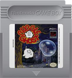 Cartridge artwork for Bubble Ghost on the Nintendo Game Boy.